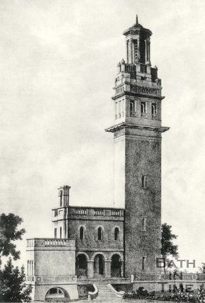 Beckford's Tower, Lansdown, Bath, c.1910