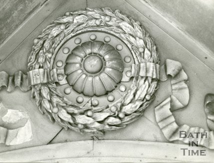 Beckford's Tower, Bath, ceiling 1972