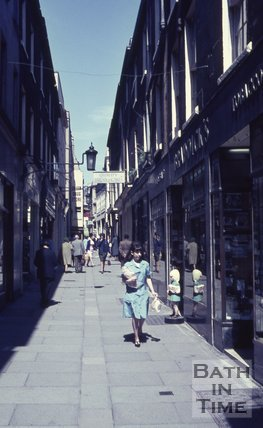Union Passage, Bath, c.1970s