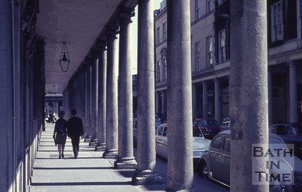The Colonnade, Bath Street, Bath, c.1960s