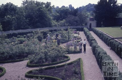 The Garden at the American Museum, Bath, c.1960s