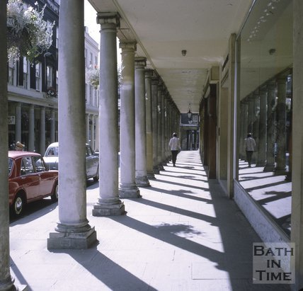 The Colonnade, Bath Street, Bath, c.1960s
