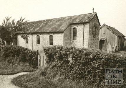 The 'Old' St Barnabus Church, Southdown, Bath, 1954