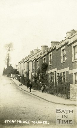 Stonebridge Terrace, Lymore Avenue West Twerton, Bath, c.1900