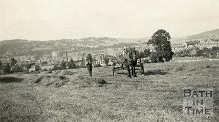Farming in Southdown, Bath, c.1920s