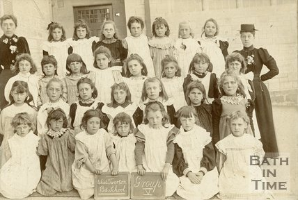 West Twerton Board School Group IV Girls, c.1897
