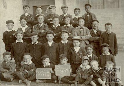 West Twerton Board School Group I Boys, c.1902