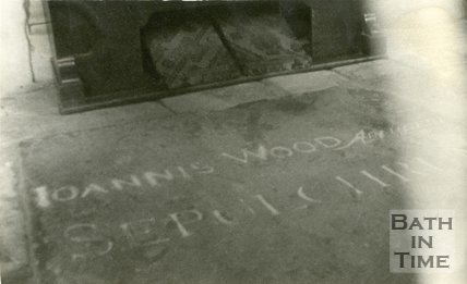 John Wood the elder's Tomb in North Aisle of Swainswick Church, Bath, c.1950s?