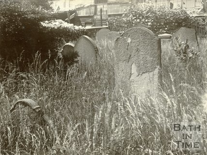 Fanny Burney's Grave, Walcot Old Cemetery, Bath, June, 1899