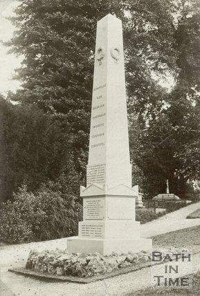 Crimea War Obelisk, Abbey Cemetery Bath, c.1880