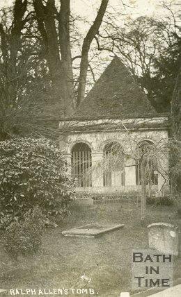 Ralph Allen's Mausoleum, Claverton, c.1910