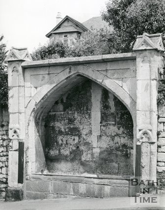 Horse Trough, Widcombe Hill, Bath, 1967