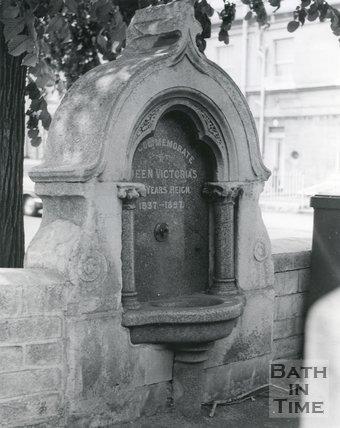 Bear Flat Drinking Fountain (Horse Trough), Bath, 1967