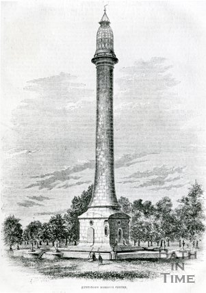 Ammerdown Memorial Column, Bath, 1864