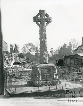 War Memorial, Weston, Bath, 1969