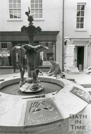 The Fountain at Seven Dials, Bath, 1992