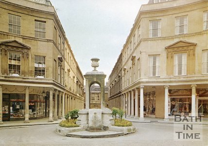 Pieroni's Mineral Water Fountain, Bath Street, c.1960s?