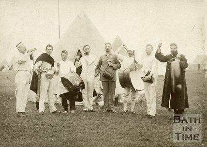 Somerset Yeomanry, c.1905?