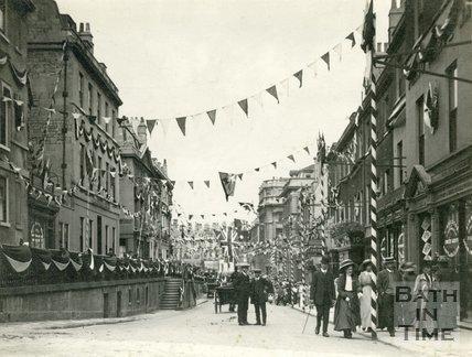 King George V Coronation Celebrations in Bath, 1910