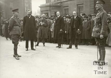 Recruiting Rally in Bath, c.1914