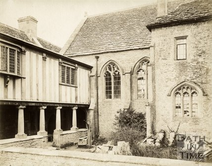 The Cloisters, South Wraxall Manor c.1890