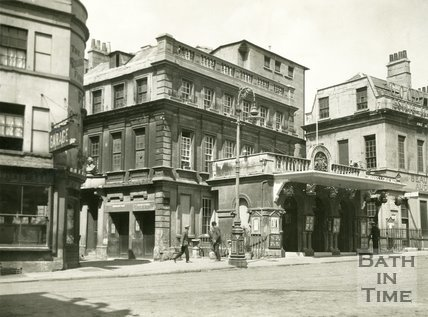 The Theatre Royal, Sawclose, Bath 1925