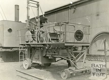 Tarmacadam plant manufactured by Stothert & Pitt, Bath c.1926