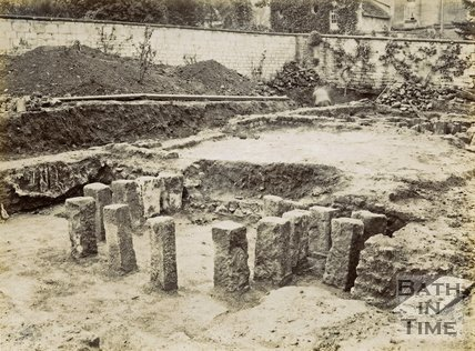 Roman villa excavations, Box 1898