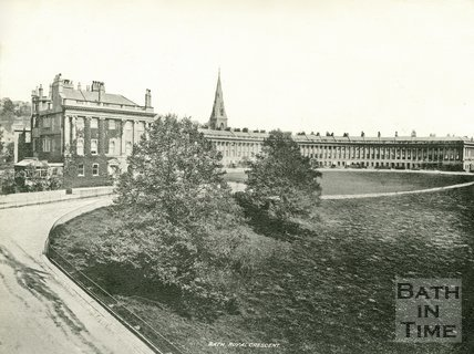 The Royal Crescent, Bath c.1900