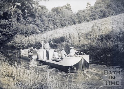 The Dundas Chariot on the Kennet and Avon Canal near Bath c.1950