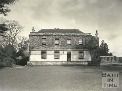 Hill House and garden, Northend, Batheaston c.1950?