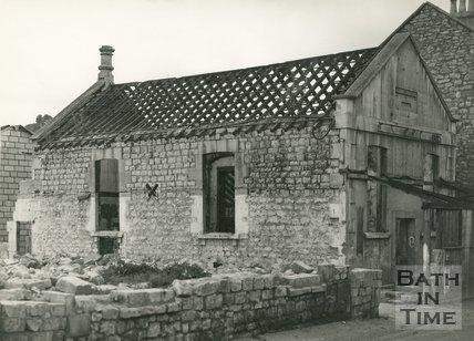 A derelict chapel on Locksbrook Road, 1946