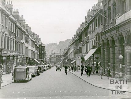 Milsom Street, Bath 1949