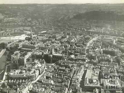 Aerial view of Bath c.1940