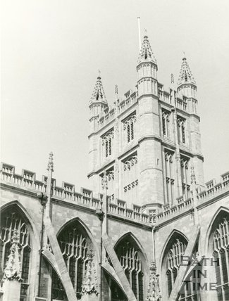 Bath Abbey, Bath c.1965