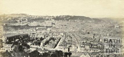 Bath from Beechen Cliff c.1865