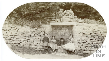 Water trough, Langridge near Bath 1865