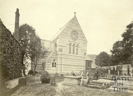 St. John's Church, Bathwick, Bath c.1890