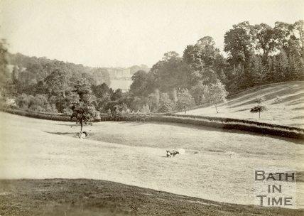 The Dell and Prior Park, Bath c.1880
