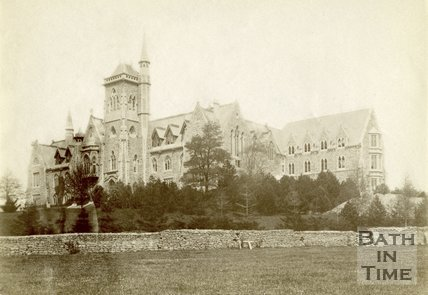 Kingswood School, Lansdown, Bath c.1880