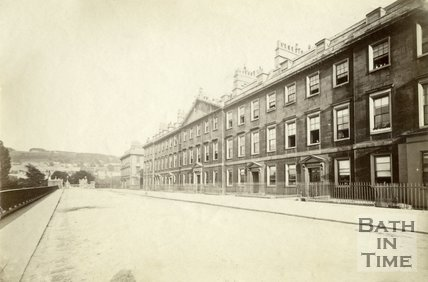 North Parade, Bath c.1880