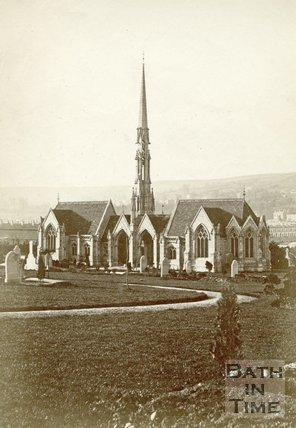 St. James's Cemetery, Lower Bristol Road, Bath c.1880