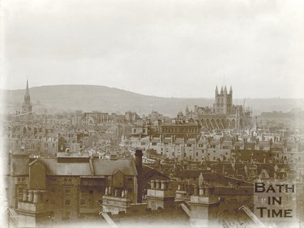View of Bath from Widcombe c.1905