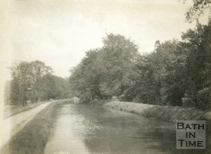 The Kennet and Avon Canal, possibly near Bathampton 1898