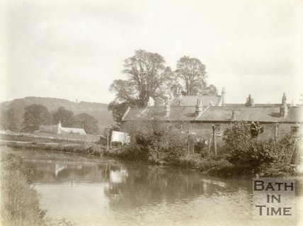 Chapel Row and the Kennet and Avon Canal, Bathampton 1898