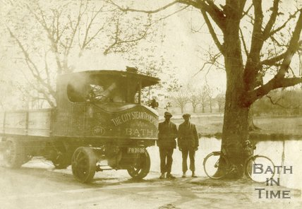 The City Steam Transportation Co., Bath Super Sentinel steam lorry c.1925
