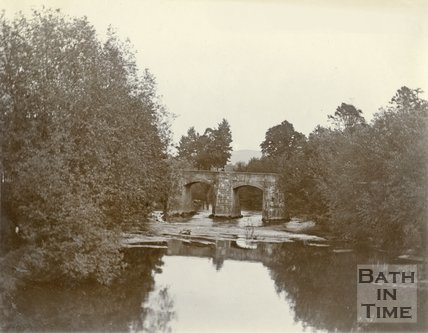 Stokeford Bridge, Limpley Stoke c.1900