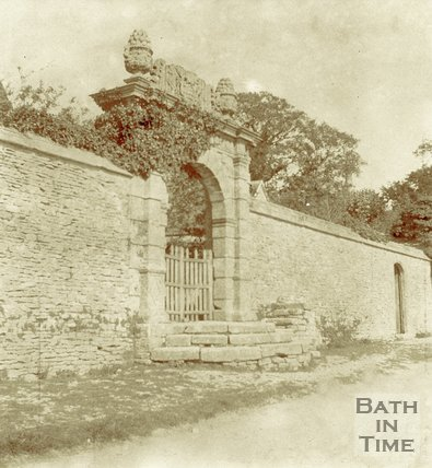 Gateway to Cold Ashton Manor c.1880