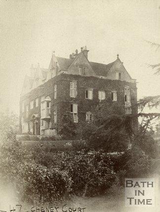 Cheney Court near Ditteridge 1887