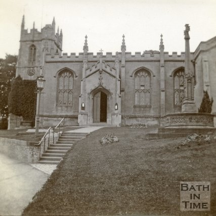 All Saints' Church, Weston, Bath c.1906